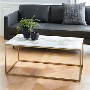graphic marble inlay coffee table white west elm With west elm white coffee table