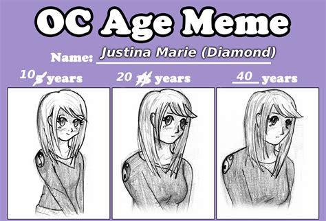 Age Meme - age meme by lovetadraw on deviantart