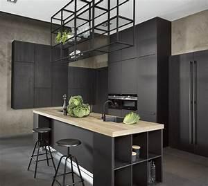 Cocinas, En, Negro, Un, Toque, De, Elegancia, Y, Personalidad