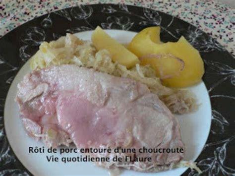 cuisiner un roti de porc recettes de rôti de porc et viande