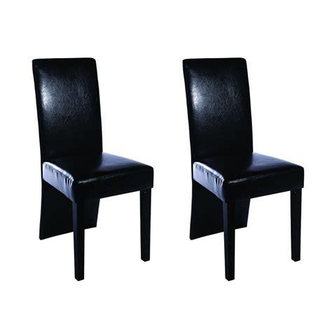 chaise design noir la boutique en ligne chaise design bois noir lot de 2