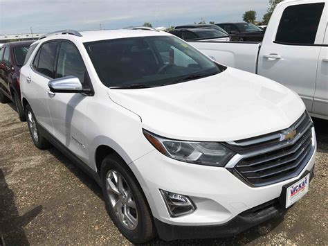 New 2018 Chevrolet Equinox Premier Summit White For Sale