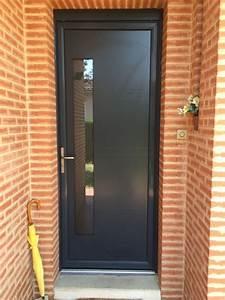 Sonnette Porte D Entrée : porte entree pvc 12 innov menuiseries ~ Dailycaller-alerts.com Idées de Décoration