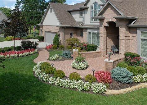 pictures of beautiful front yards plantings and flower beds archives page 3 of 6 tinkerturf