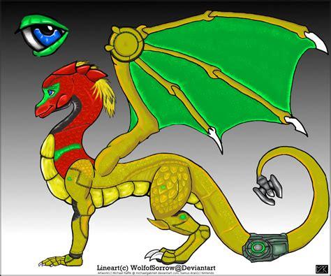 Samus Aran Dragon By Michaelgabrielr On Deviantart