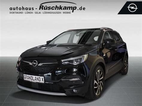 opel grandland x schwarz opel grandland x suv gel 228 ndewagen in schwarz vorf 252 hrfahrzeug in werne f 252 r 37 980