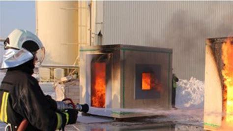 Knauf - Koka un ģipšakmens ugunsdrošību pierāda K260 tests