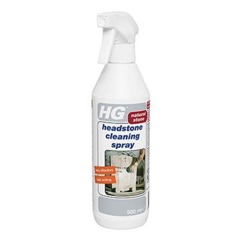hg headstone cleaning spray marble limestone terrazzo