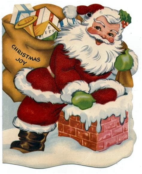 free clip from vintage crafts santa claus