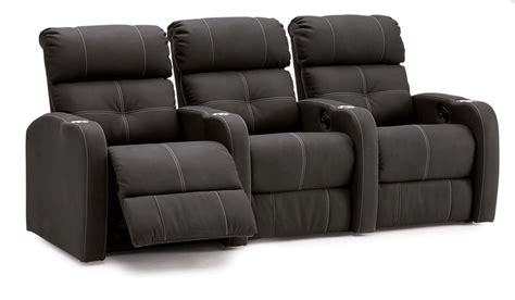 Loveseat Theater Seating by Palliser Stereo Row Of Four With Loveseat Home Theater Seating