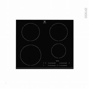 Plaque Induction 3 Feux : plaque de cuisson 4 feux induction 60 cm verre noir ~ Dailycaller-alerts.com Idées de Décoration