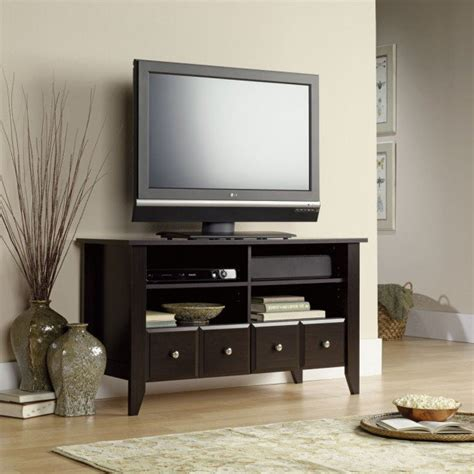 cool places  put  tv stand   house universal tv stand