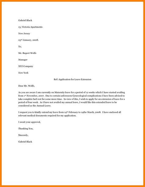 maternity leave letter sampleternity employer appeal