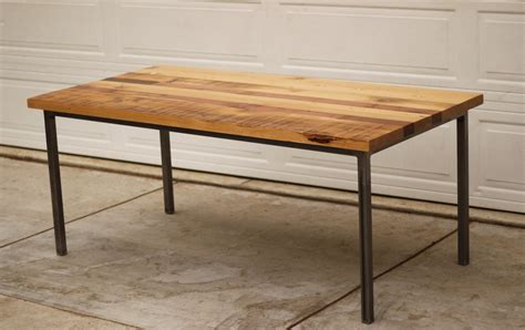 all wood dining table rectangular reclaimed wood dining table with metal legs of
