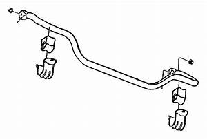 2000 Jeep Grand Cherokee Bushing  Stabilizer Bar  Sway Bar