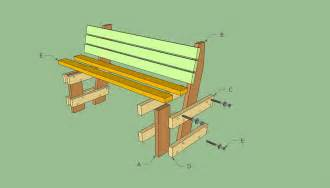 Backless Garden Benches by Free Garden Bench Plans Howtospecialist How To Build