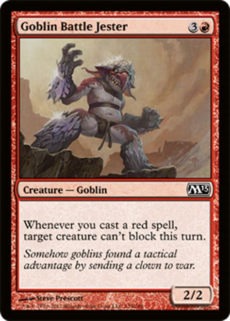 Goblin Commander Deck by Magic 2013 Casual Commander Review Castles Cooks