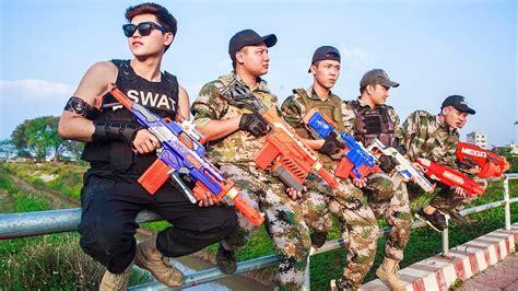 Ltt Nerf War  Special Police Seal X Warriors Nerf Guns