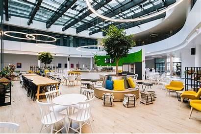 Trivago Headquarters Office Tour Cafeteria Atelier Duesseldorf