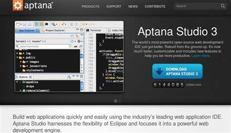 aptana studio jaxenter key features ide web introduction