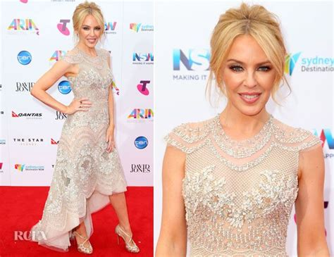 Kylie Minogue Attended The 2015 Aria Awards Held At The