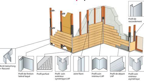 pose de bardage exterieur pose facile bardage 224 clin vertical horizontal lames aspect bois