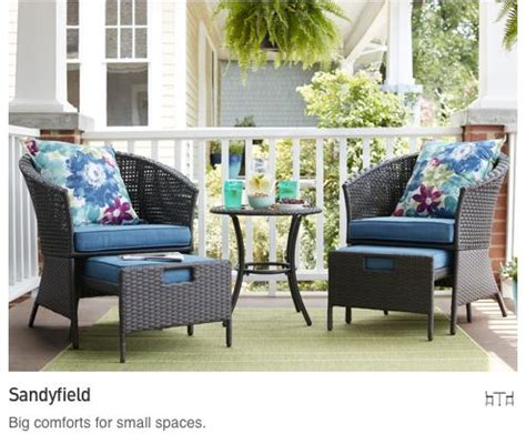 Small Patio Furniture by Outdoor Furniture Collections For Small Spaces Lowe S