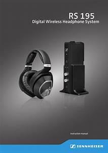 Sennheiser Electronic Hdr195 Digital Wireless Headphones