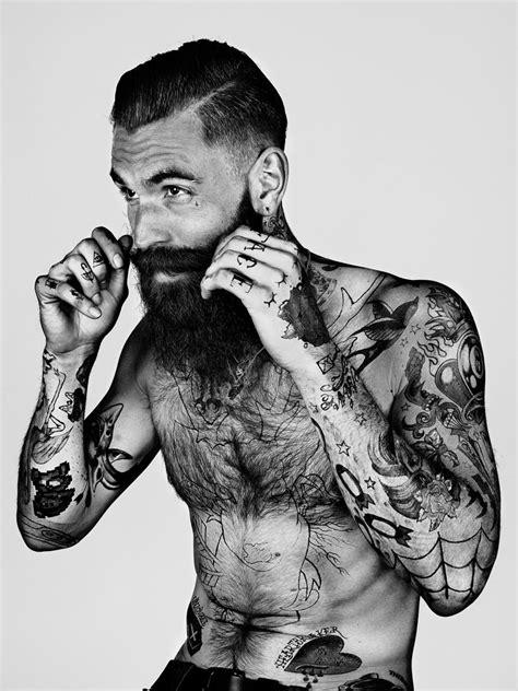 Pin by Carsten Hase on Bart Tattoo | Sleeve tattoos, Beard tattoo, Inked men