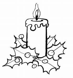 Bougies De Noel : coloriage bougie de noel dessins pinterest bougies ~ Melissatoandfro.com Idées de Décoration