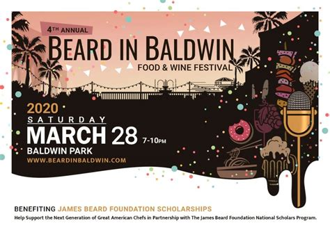 Menu items range from cola brews to macchiatos and mocha cortados to cola brews to purple pearl taro. 4th Annual Beard in Baldwin Food and Wine Festival Returns March 28th | Tasty Chomps: A Local's ...