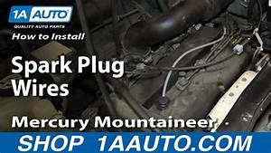 How To Install Replace Spark Plug Wires 2001-07 2 0l Ford Escape Mercury Mountaineer