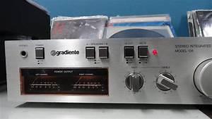 O Rei Do Som - Amplificador Gradiente Model 126