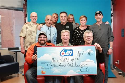 Windsor Hospital Workers Win .8m In Lotto 6/49