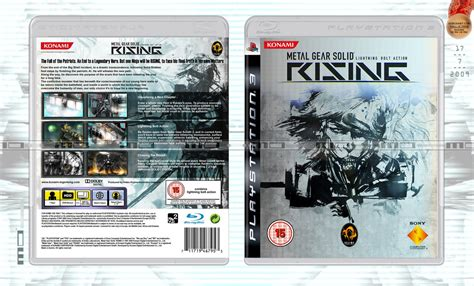 metal gear rising cover metal gear solid rising cover by nurboyxvi on deviantart