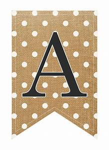 burlap banners burlap and burlap letter on pinterest With burlap banner letters