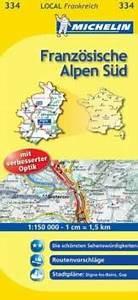 Michelin Karten Frankreich : michelin karten blatt 334 franz sische alpen s d alpes ~ Jslefanu.com Haus und Dekorationen