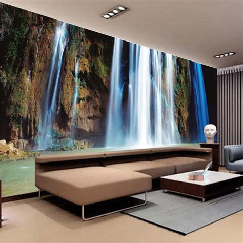 popular wallpaper waterfall buy cheap wallpaper waterfall