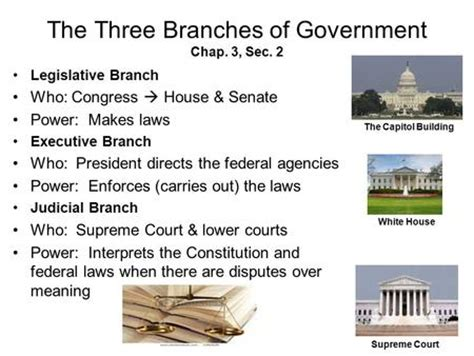 Who Controls The Bureaucracy? What Controls Do Each Of The Branches Of Government Have Over The