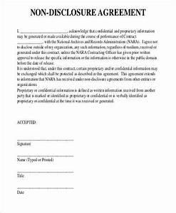 confidential disclosure agreement 2 whennon disclosure With basic nda template