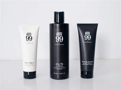 House 99 Review  David Beckham's Grooming Range Product