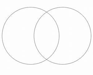 Printable Venn Diagram  2 Sets