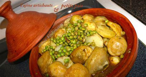 cuisiner des petits pois frais tajine artichauts et petits pois طاجين بالقوق sousoukitchen