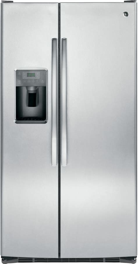 ge  cu ft stainless steel side  side refrigerator gsslslss vinton appliance center