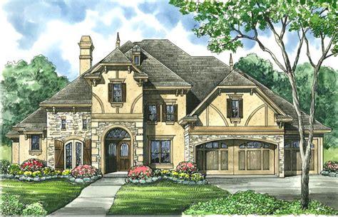 Tudor-inspired Estate Home Plan