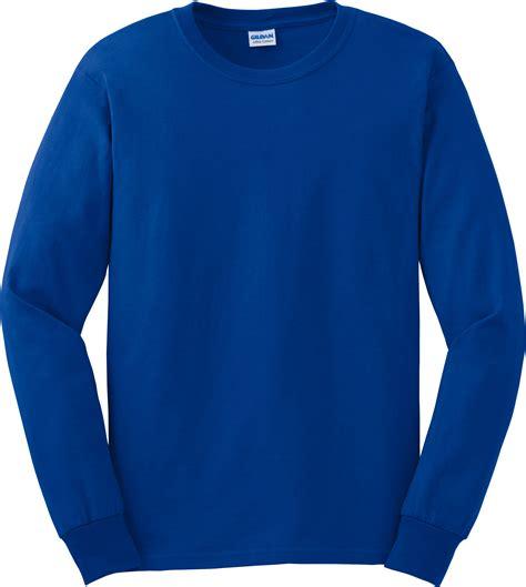 kaos ls gildan ultra cotton 100 cotton sleeve t shirt g2400
