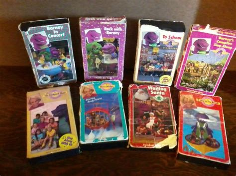 Barney And The Backyard Vhs by 8 Original Barney And The Backyard Vhs Ebay