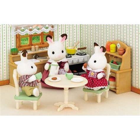 cuisine sylvanian sylvanian family 2951 set cuisine jeux et jouets
