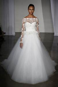 17 stunning fall 2013 wedding dresses by marchesa onewed for Dresses for fall wedding