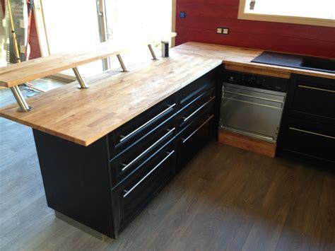 cuisine avec plan de travail noir plan de travail cuisine noir 4 cuisine bois noir avec